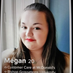 Megan is looking for singles for a date